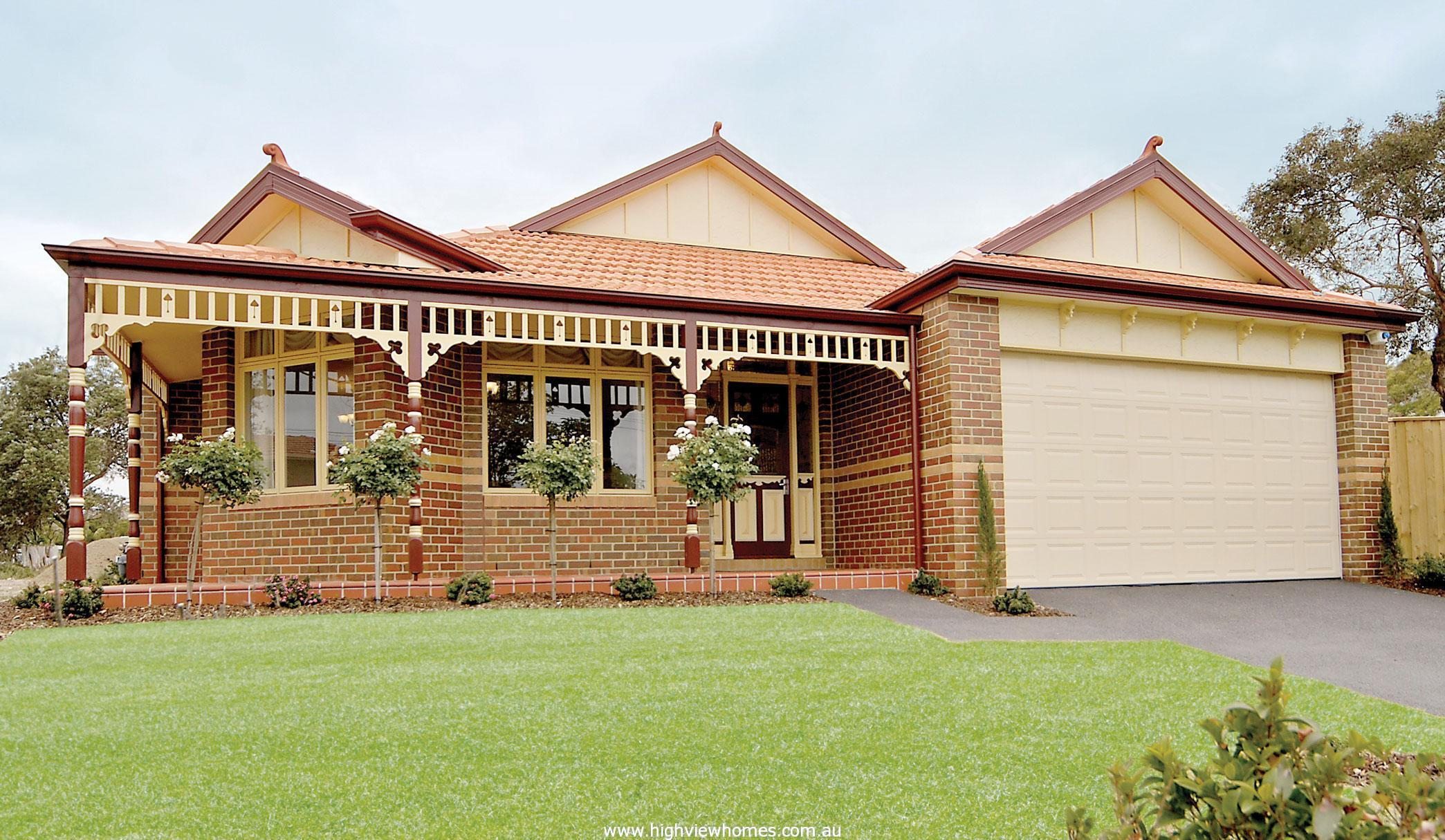 Federation style homes to build sydney