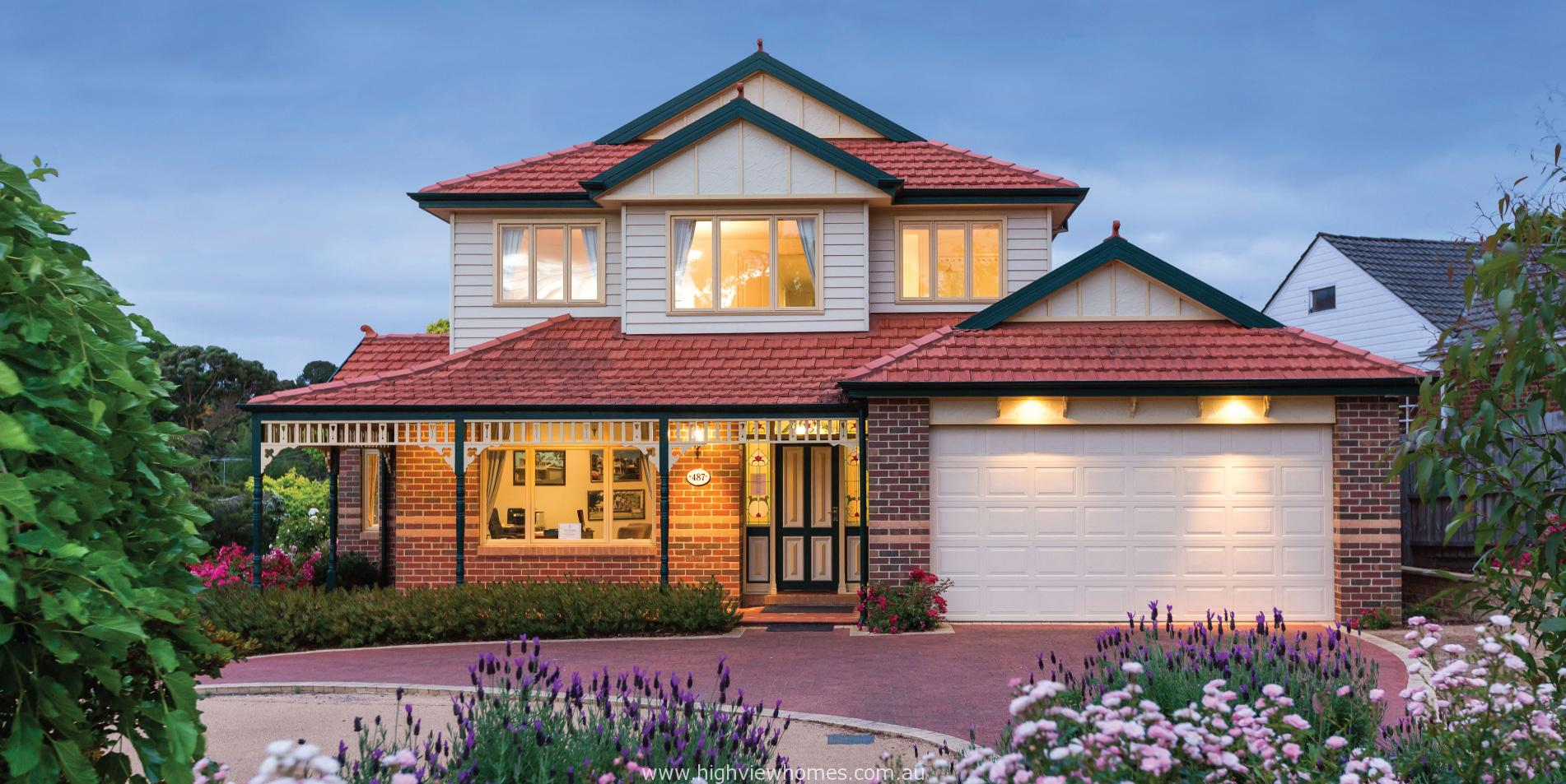Federation style project homes sydney