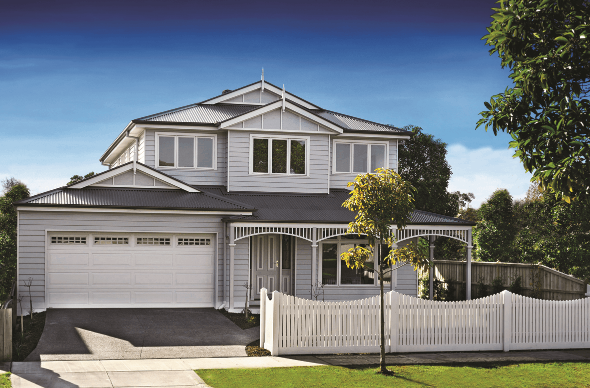 Victoriana builder for Modern weatherboard home designs
