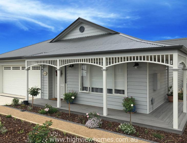 Hampton weatherboard home