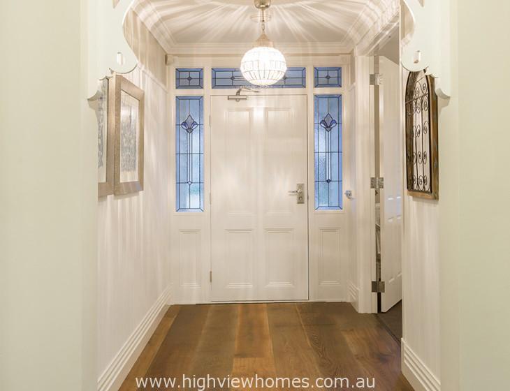 Highview homes Hampton hallway