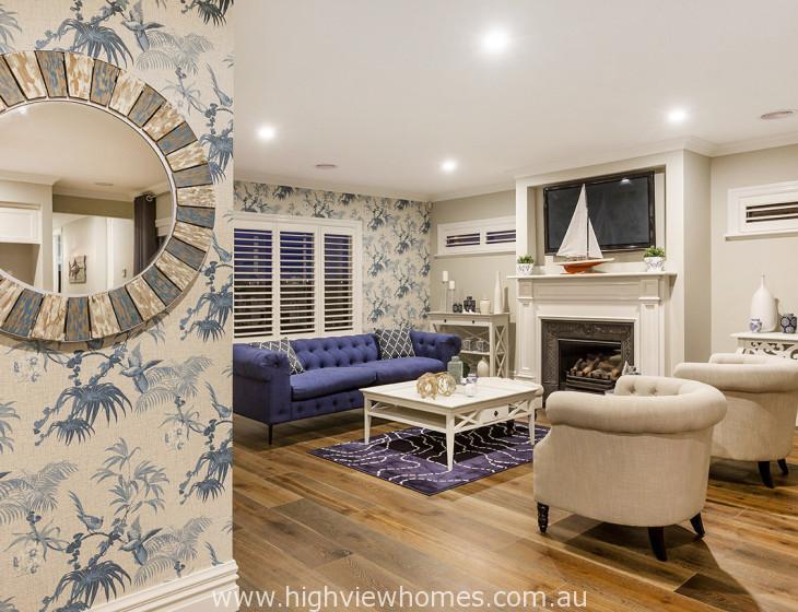 Hampton 265 style family room