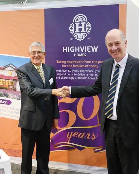 Highview with the Victorian Planning Minister