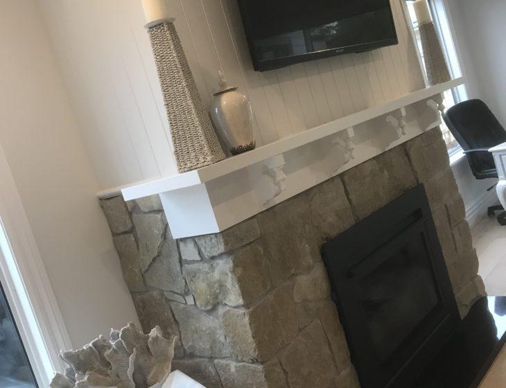 Mt Martha Hampton fireplace