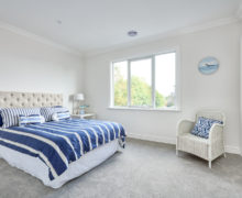 Bedroom design for Hampton home