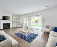 Living room coastal home