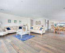 kitchen and family area hampton home