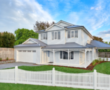 Hampton style home - coastal home style
